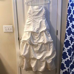 David's Bridal Flower Girl's Dress (Ivory)